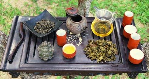 Jin Xuan Taiwan Oolong Cultivar No. 12 in my tea ceremony