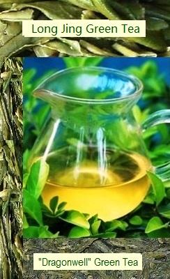 Spring Green Long Jing Dragonwell Tea