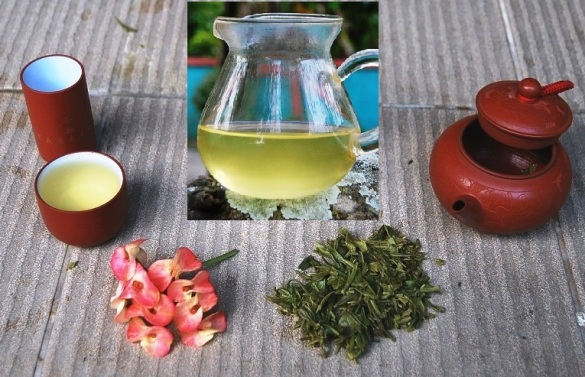 Exploring Wild Spring Long Jing Green Tea