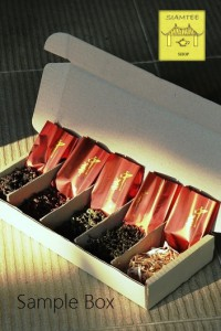 SiamTeas Sample Box 'Great Teas of China': 5 teas to try of our line of finest, carefully selected Chinese teas