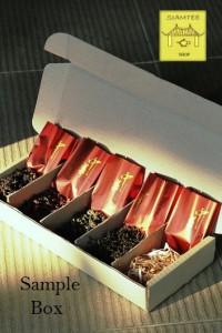 Japanese Tea Sample Boxes