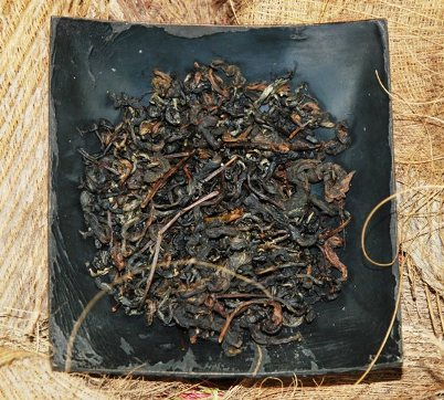 Coconut Black Thai tea blend of semi-wild black tea from ancient tea trees with coconut