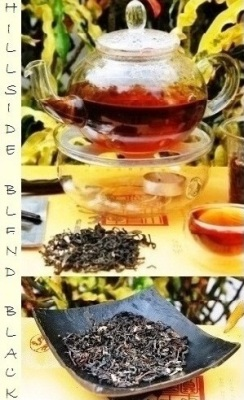Flavored Thai Tea Blend of black tea and flavoring agents