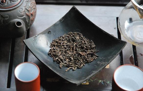 Ripe Pu Erh tea from Lincang, Yunnan, China