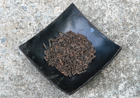 Ripe Pu Erh tea from Lincang area, Yunnan, China