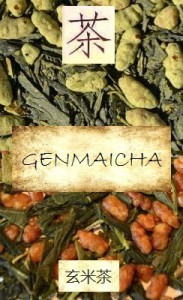 Japanese Genmaicha tea: Sencha tea with roasted rice grains and with our without Matcha