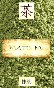 Matcha: powdered Japanese green tea
