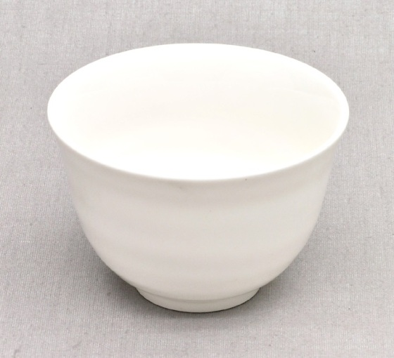 japanese tea bowl chawan white bone china 200ml. Black Bedroom Furniture Sets. Home Design Ideas