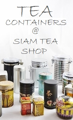 Tea and Matcha Tea Containers @ Siam Tea Shop