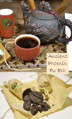 Ancient Phoenix Ripened ('shu') Puer Tea