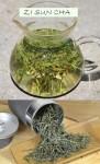 Zi Sun Cha Green Tea from biodiverse organic cultivation