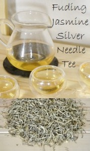 Jasmine-scented Fuding White Silver Needle tea