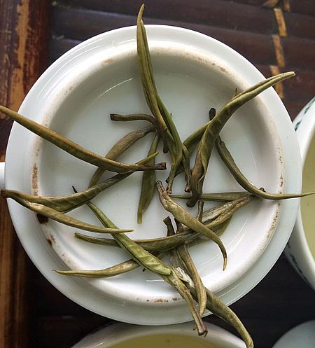 Ancient Snow Shan White Silver Needle Tea from Ha Giang, Vietnam
