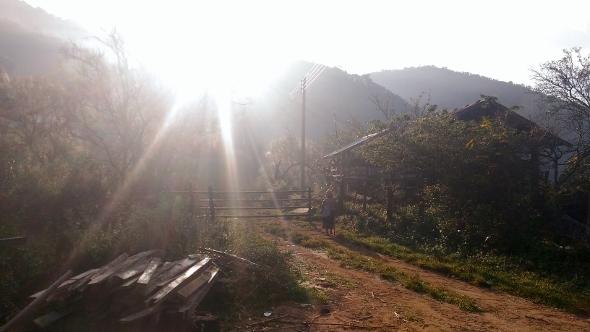 Xiengkhouang, east Laos