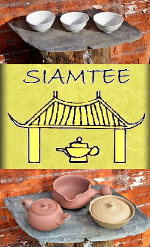 SiamTeas Signature Tea Pottery / Tea Ceramics Line : elementary tea pottery, hand-crafted according to SiamTeas specifications